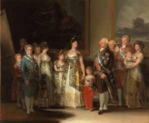 Cuadro de la familia de Carlos IV